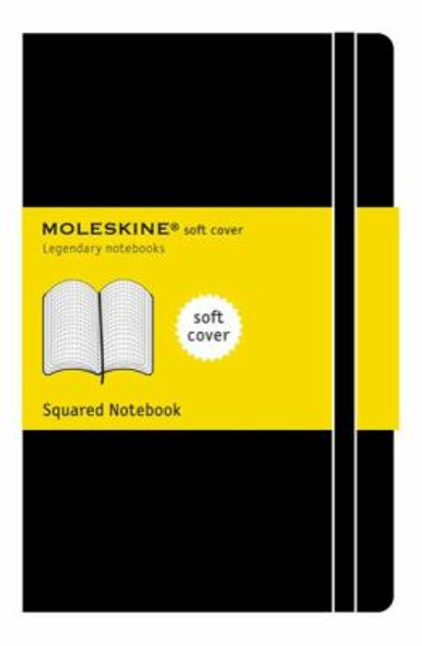 Moleskine Squared Soft Notebook - Extra Large Cover