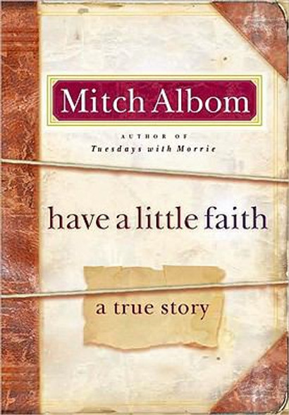 Have a Little Faith: A True Story Cover