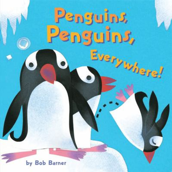 Penguins, Penguins, Everywhere! Cover