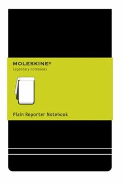 Moleskine Plain Reporter Notebook - Pocket Cover