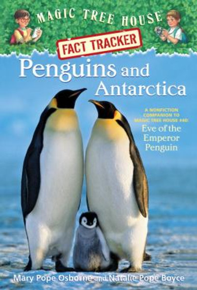 Penguins and Antarctica: A Nonfiction Companion to Eve of the Emperor Penguin Cover