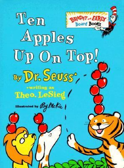 Ten Apples up on Top! Cover