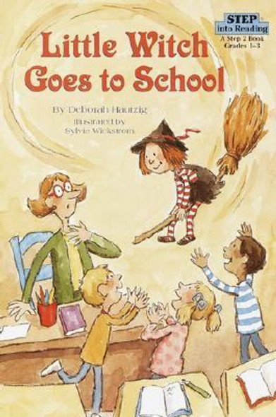 Little Witch Goes to School Cover