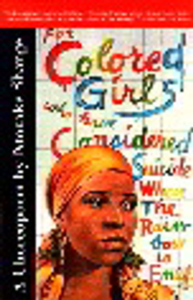 For Colored Girls Who Have Considered Suicide, When the Rainbow Is Enuf Cover