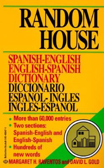 Random House Spanish-English English-Spanish Dictionary Cover