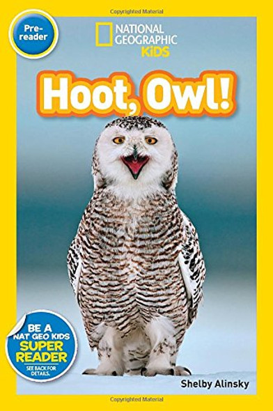 National Geographic Readers: Hoot, Owl! Cover