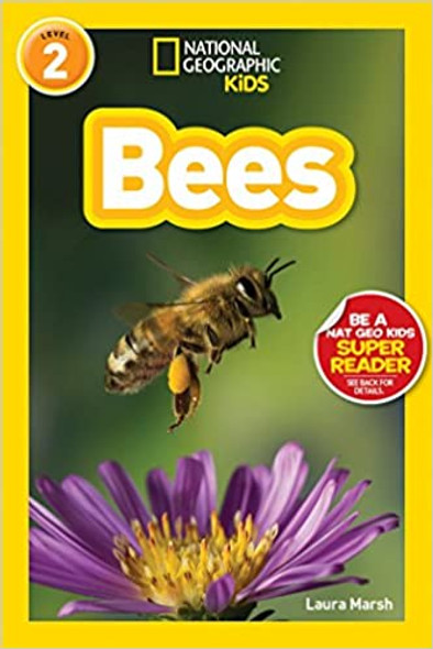 National Geographic Readers: Bees (Level 3) Cover