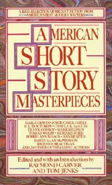 American Short Story Masterpieces Cover