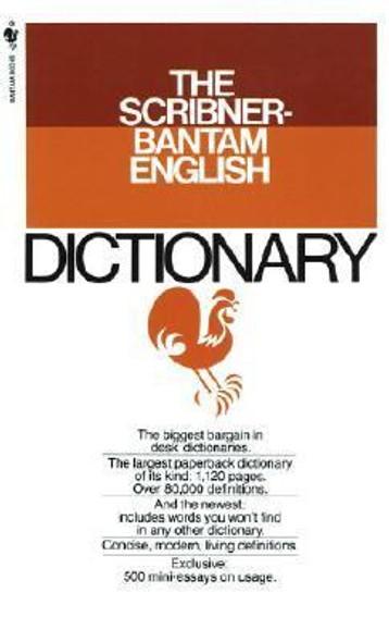Scribner-Bantam English Dictionary Cover
