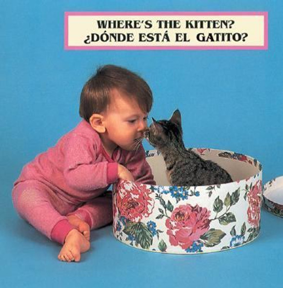 Where's the Kitten? (Spanish/English): Bilingual Edition Cover