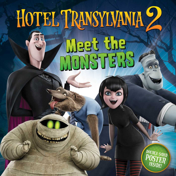 Meet the Monsters (Hotel Transylvania 2) Cover
