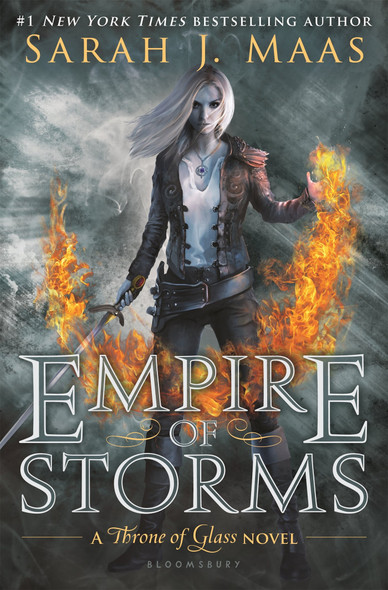 Empire of Storms (Throne of Glass) Cover