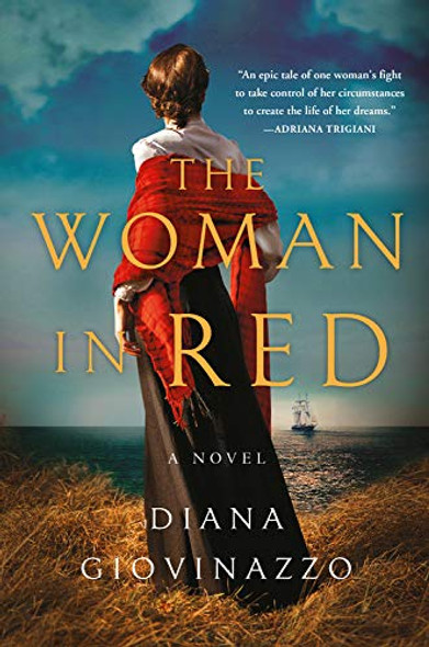 The Woman in Red Cover