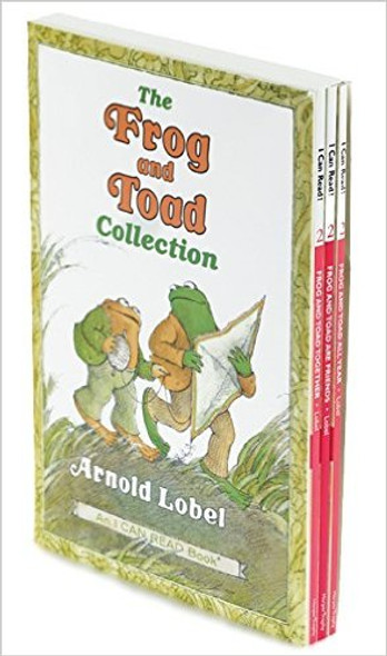 The Frog and Toad Collection Box Set: Includes 3 Favorite Frog and Toad Stories! Cover
