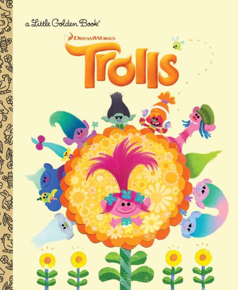 Trolls Little Golden Book (DreamWorks Trolls) (Little Golden Book) Cover