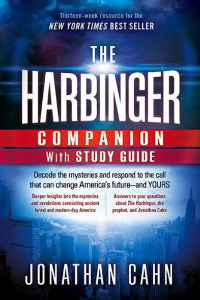 The Harbinger Companion with Study Guide: Decode the Mysteries and Respond to the Call That Can Change America's Future-And Yours Cover