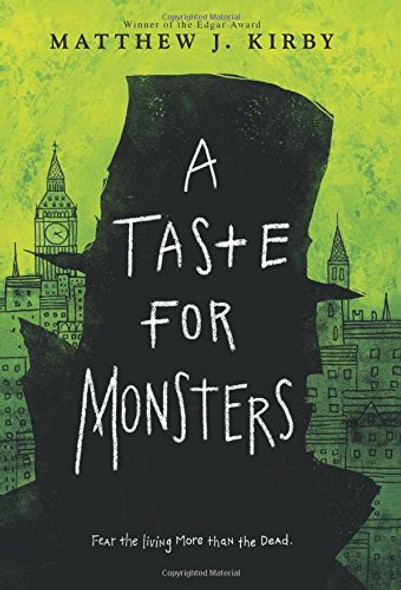 A Taste for Monsters Cover