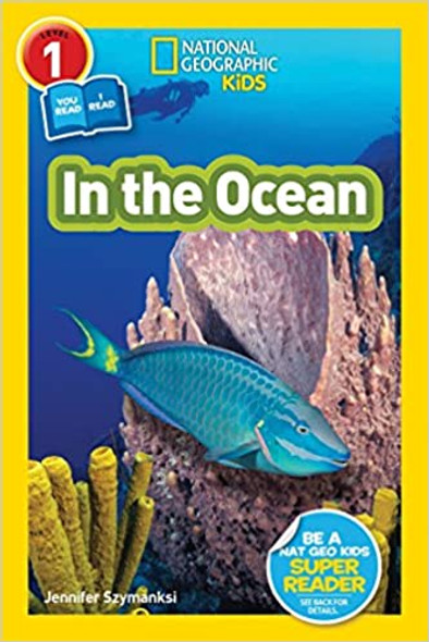 National Geographic Readers: In the Ocean (L1/Co-reader) Cover