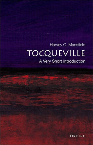Tocqueville (Very Short Introductions) Cover