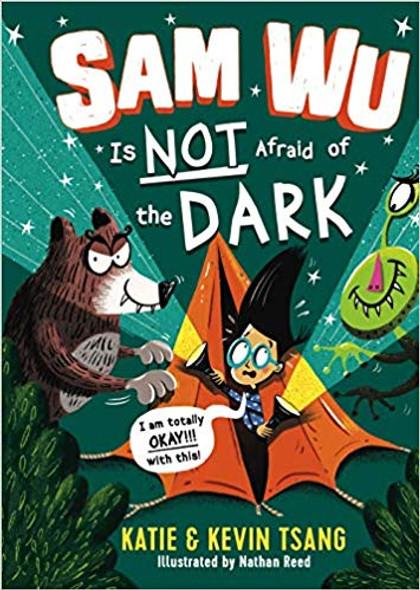 Sam Wu Is Not Afraid of the Dark ( Sam Wu Is Not Afraid #3 ) Cover