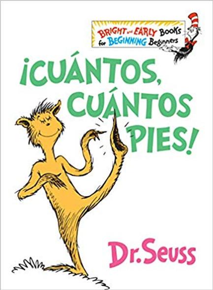 çcu‡ntos, Cu‡ntos Pies! (the Foot Book Spanish Edition) Cover