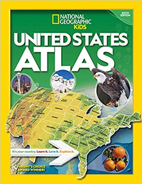 National Geographic Kids U.S. Atlas 2020, 6th Edition Cover