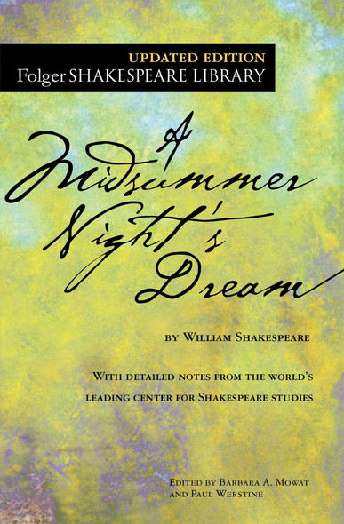A Midsummer Night's Dream (Folger Shakespeare Library) Cover
