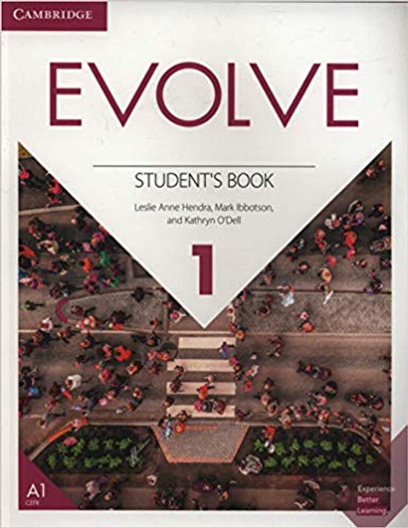 Evolve Level 1 Student's Book Cover