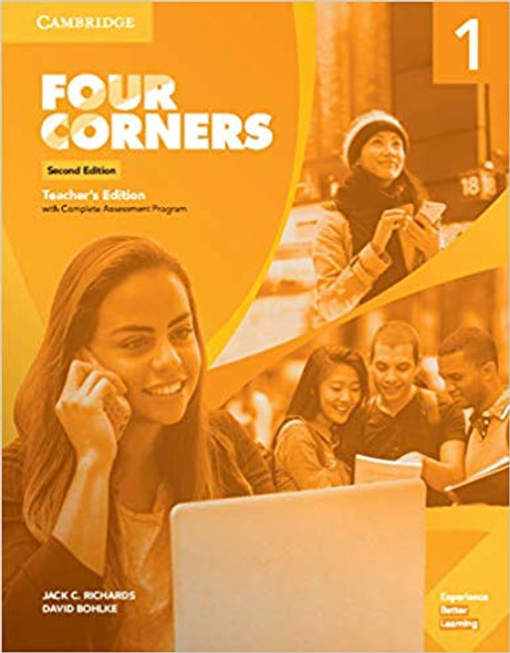 Four Corners Level 1 Teacher's Edition with Complete Assessment Program (Revised) (2nd Edition) Cover