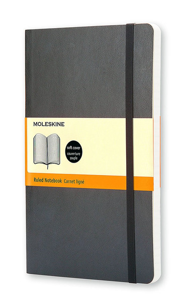 Moleskine Ruled Soft Notebook - Large Cover