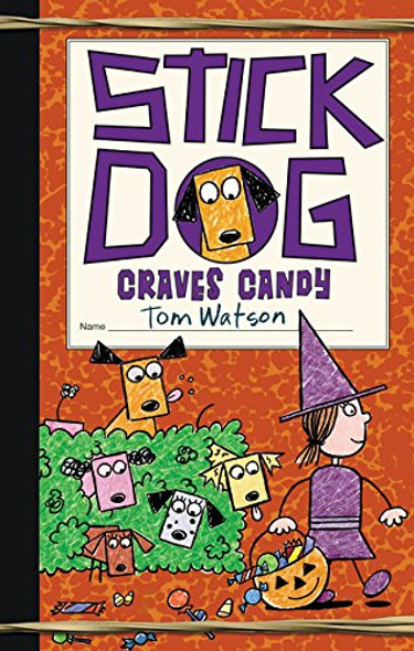 Stick Dog Craves Candy Cover