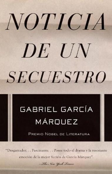 Noticia de un secuestro (Spanish Edition) Cover