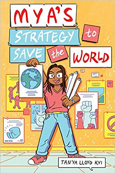 Mya's Strategy to Save the World Cover