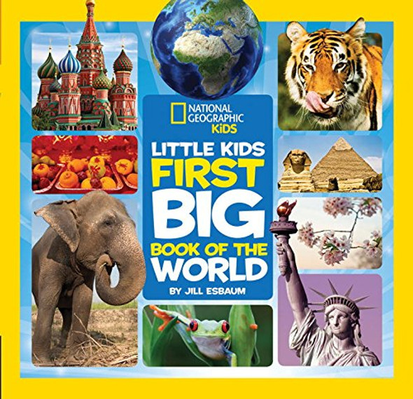National Geographic Little Kids First Big Book of the World Cover