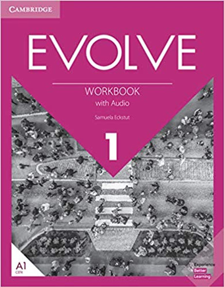 Evolve Level 1 Workbook with Audio Cover