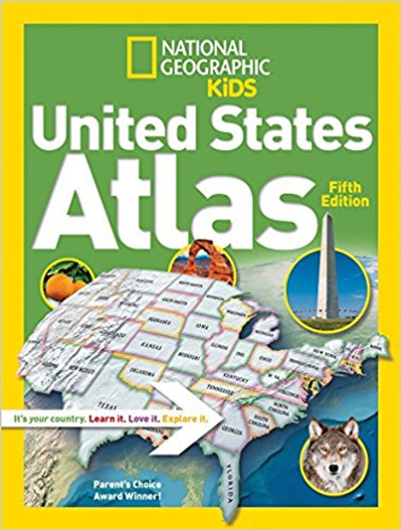 National Geographic Kids United States Atlas Cover