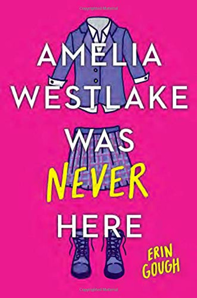 Amelia Westlake Was Never Here Cover