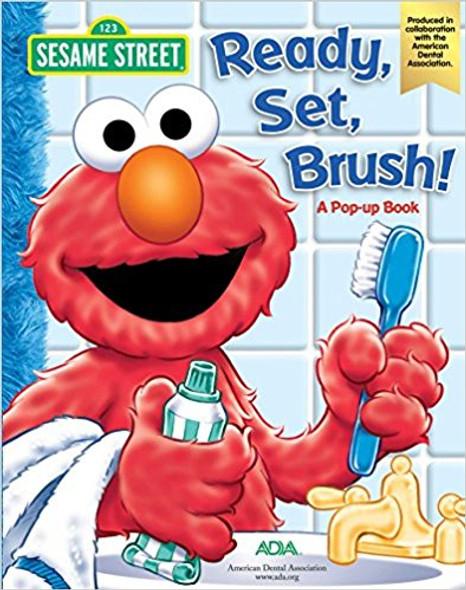 Sesame Street Ready, Set, Brush! a Pop-Up Book Cover