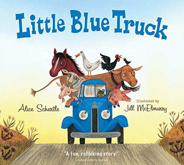 Little Blue Truck Board Book Cover