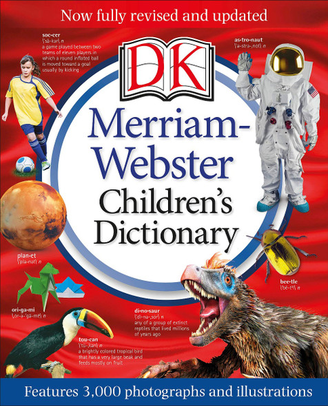 Merriam-Webster Children's Dictionary, New Edition: Features 3,000 Photographs and Illustrations Cover