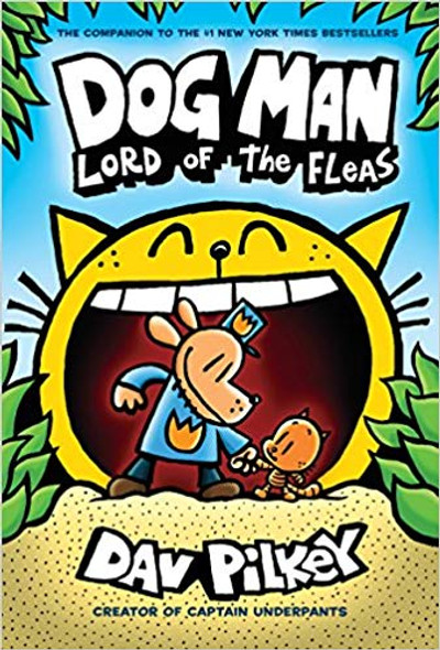 Dog Man: Lord of the Fleas (Dog Man #5) Cover