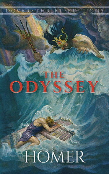 The Odyssey (Dover Thrift Editions) Cover