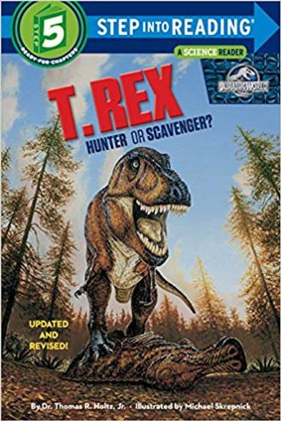 T. Rex: Hunter or Scavenger? (Jurassic World) Cover