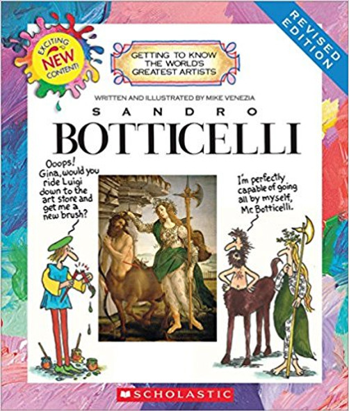Sandro Boticelli (Revised Edition) (Getting to Know the World's Greatest Artists (Revised)) Cover