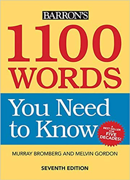 1100 Words You Need to Know Seventh Edition Cover