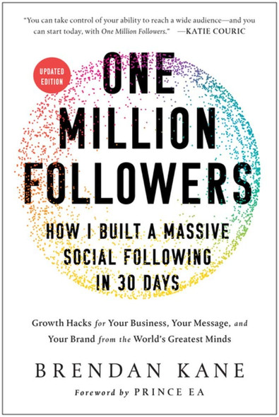One Million Followers, Updated Edition: How I Built a Massive Social Following in 30 Days Cover