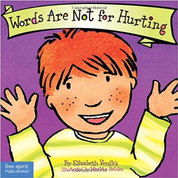 Words Are Not for Hurting ( Best Behavior ) Cover