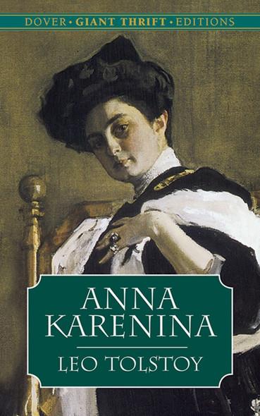 Anna Karenina (Dover Thrift Editions) Cover