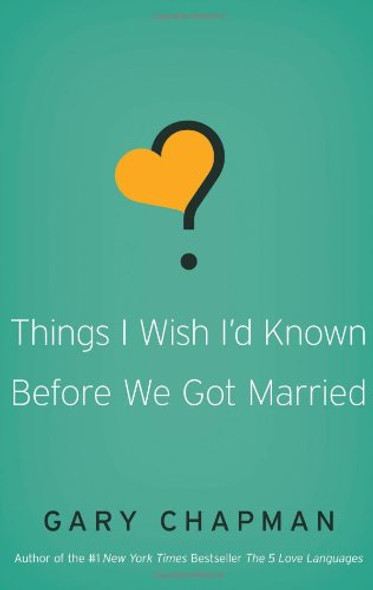 Things I Wish I'd Known Before We Got Married Cover
