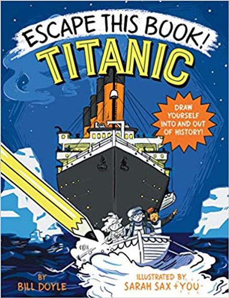 Escape This Book! Titanic Cover